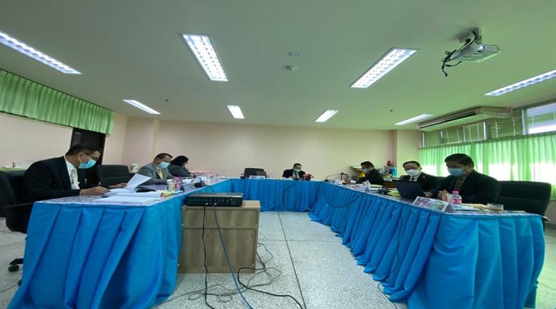สาขาวิชาการบริหารการศึกษา ดำเนินการวิพากษ์หลักสูตรภายนอกหลักสูตรครุศาสตรมหาบัณฑิตและหลักสูตรปรัชญาดุษฎีบัณฑิต คณะครุศาสตร์ มหาวิทยาลัยราชภัฏเลย
